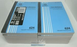 20 x Olympic #624 Tax Invoice & Statement Books No.624 Duplicate in stock