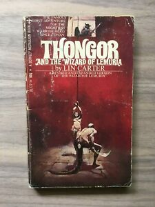Thongor and the Wizard of Lemuria by Lin Carter - Berkey Edition 1969 Paperback