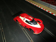 1/32 Slot Car Body, Chassis and  3 Motor Pods  Slot.it Audi R8C