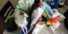 Batch Lott of Carrier Bags Used x 100