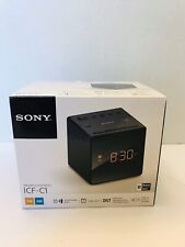 Sony ICF-C1 AM FM Alarm Clock Radio Black