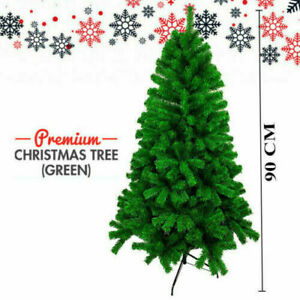 Christmas Tree 3ft 4ft Traditional Decoration Colorado Pine Artificial Xmas UK