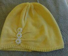 Gymboree Bebé Niñas Gorro Estilo Sombrero Amarillo Daisy. 12-24 meses/1-2 Años. nuevo