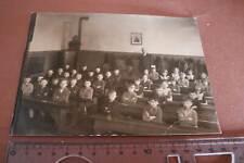 tolles altes Klassenfoto - Schulklasse - gemischte Schule - 1910-30 ??