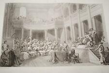 NAPOLEON REPUBLIQUE CISALPINE LYON GRAVURE 1838 VERSAILLES R1069 IN FOLIO