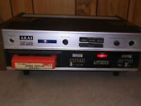 Vintage Akai CR-80D 8 Track tape Stereo Player powers up estate find