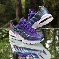Nike Air Max 95 Size 6.5Y Court Purple Green Black AJ1899-500