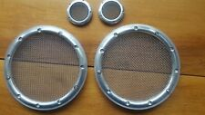 MGF MGTF Aluminium Speaker and Tweeter Grills / Covers including the mesh
