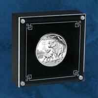 Australien - Lunar III Jahr des Ochsen - 1 $ 2021 PP Silber - Ox - Silver