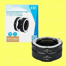 JJC 11mm + 16mm Macro Extension Tube Set for Fujifilm X mount XC XF Lens DN
