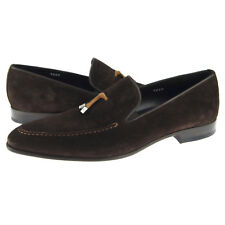 Corrente 5060 Suede Slip-on Loafer, Men's Dress/Casual Shoes Brown