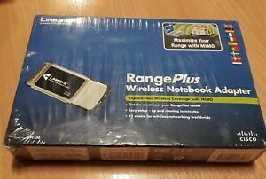 Laptop Wireless Card Linksys WPC100 Notebook Adapter Adaptor NEW BOXED SEALED