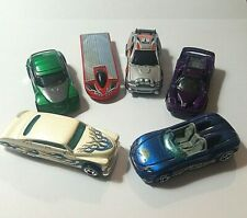Hot Wheels 6 car lot / Passion / Pronto / Escort / MX 48 / Ferrari / Solar Eagle