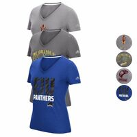 NCAA Assortment of V-neck Ultimate Climalite T-Shirt Collection by ADIDAS Women