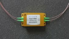 Sercalo Dual MEMS VOA 5V Variable Optical Attenuator 1240-1610nm VA2OF9T1216