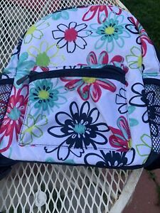 Thirty One Lil' Go Backpack Loopsy Daisy Flowers Floral Small (LE)