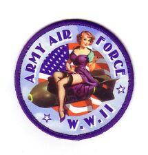 ARMY AIR FORCE PIN-UP (Ecusson/Patch Souvenir)