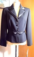 NWT Maggy London Petites  Black Formal Career Jacket   Sz 10 Free ship