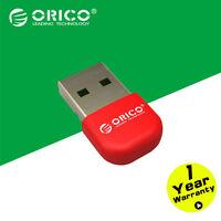 ORICO Red Mini Wireless Bluetooth 4.0 Adapter Dongle USB 2.0 CSR8510 Chip