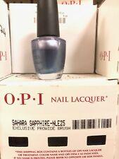 2 X OPI SAHARA SAPPHIRE (NL E25)