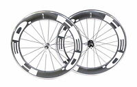 HED Jet Road Bike Wheelset 700c Carbon / Aluminum 10 Speed Clincher QR