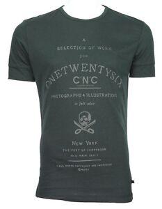 C'N'C (Costume National) 126 slim fit tee charcoal