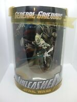 "GENERAL GRIEVOUS UNLEASHED 11"" Star Wars Figure EXCLUSIVE Tube STATUE bad damage"