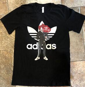 Canvas T-shirt Mens Medium Custom Print