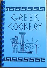 25 year old Self Published Greek Cookbook lots of authentic recipes!