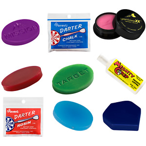 Darts Wax Grip Improved Grip Chalk Rosin Darts Accessories - 9 Grips to Choose!