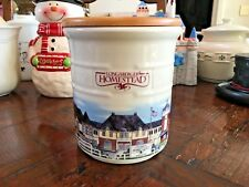 Longaberger Pottery Homestead Crock - Great Condition