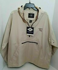 Mens Pull Over Light Weight Jacket  Charles River Wind Breaker Seagrams VO Golf