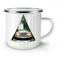Abstract American NEW Enamel Tea Mug 10 oz   Wellcoda