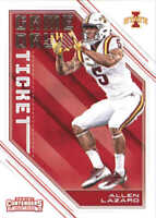 2018 Panini Contenders Draft Picks Game Day Tickets #34 Allen Lazard Iowa State