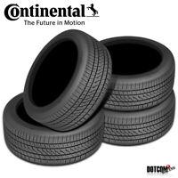 4 X New Continental PureContact LS 245/45R18XL 100V Tires