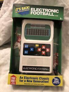 Basic Fun Retro Handheld Football Electronic Game, One Size - White