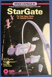 StarGate : The Final Space Battle for Galactic Freedom Space Capsule #2 1979 SPI