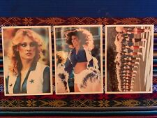 1981 Topps Dallas Cowboys Cheerleaders 5x7 Complete 30 Card Set w/wrapper