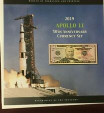 Apollo 11 50th Anniversary Currency Set $50 FRN Serial #19691921
