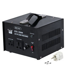 New 110V to 220V STEP Up Only VOLTAGE CONVERTER 1000W Watt TRANSFORMER TRAVEL