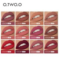 12 Color Lips Makeup Lipstick LipGloss Long Lasting Moisture Cosmetic Waterproof