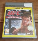 UFC UNDISPUTED 2009 Platinum Jeu Sur Sony PS3 Playstation 3 Neuf Sous Blister VF