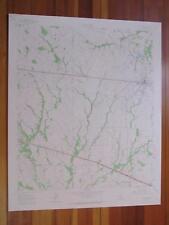 Wills Point Texas 1965 Original Vintage USGS Topo Map