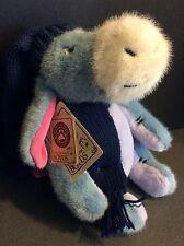 "10"" Boyds Bears Eeyore Stuffed Animal Plush EUC with Tags Winter Scarf Hat"