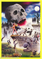 POSTER : FANTASY:   SWAMP ZOMBIES           - FREE SHIPPING ! #BL25  RP93 K