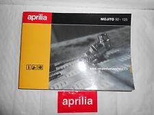 BRAND NEW GENUINE APRILIA MOJITO 50-125 USE+MAINTENANCE BOOK AP8202318