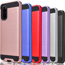For Samsung Galaxy S20 Ultra S10 Plus S10e S9 S8 Active Case +Tempered Glass