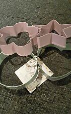 Creative Tops Katie Alice Cottage Flower Set of 4 Metal Cookie Cutters Bake/Cook