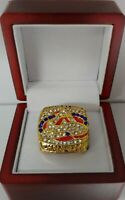 Ray Bourque - 2001 Colorado Avalanche Stanley Cup Hockey Ring WITH Wooden Box