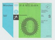 Orig. Ticket Olympic Games Munich 1972 Soccer Germany-USA! Top